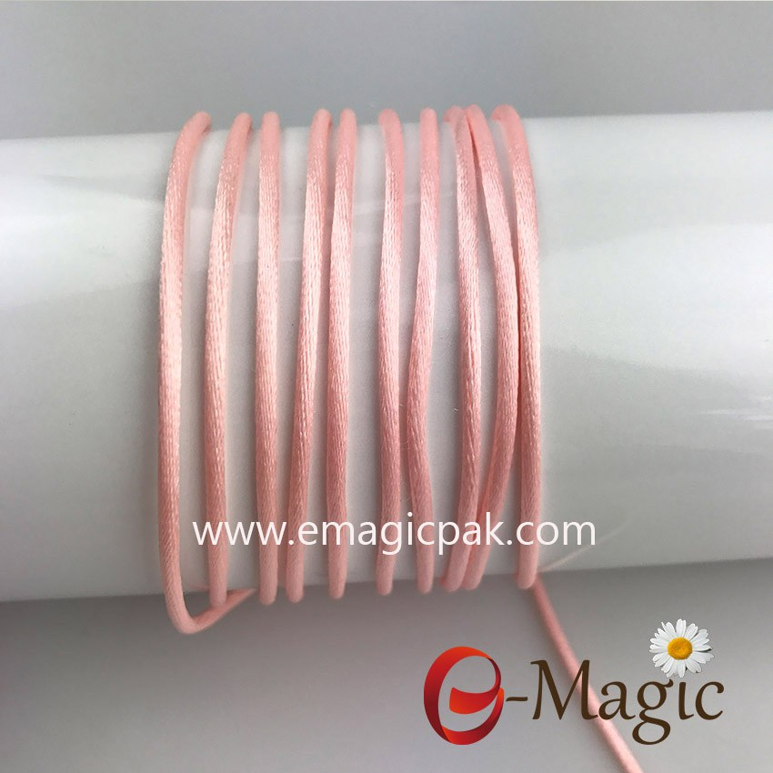 Shocking Pink 2mm nylon cord