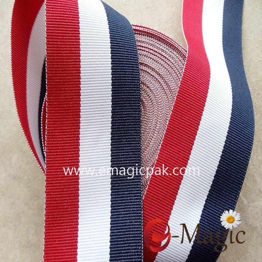 Red White Blue Strip Ribbon