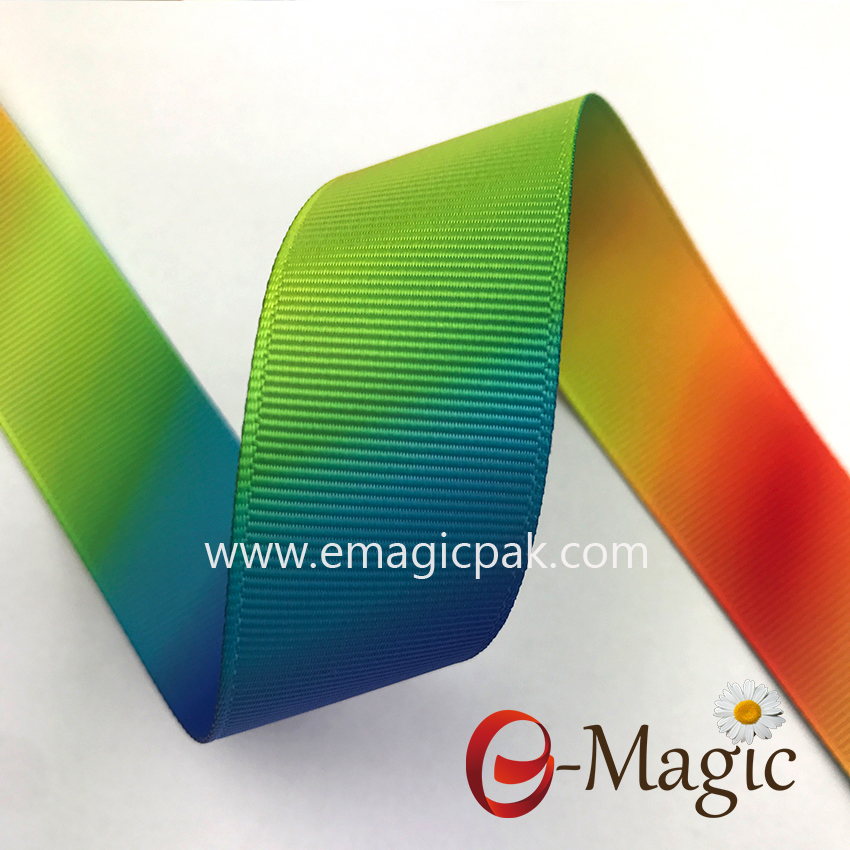 factory heat transfer printing celebrate custom polyester ribbon