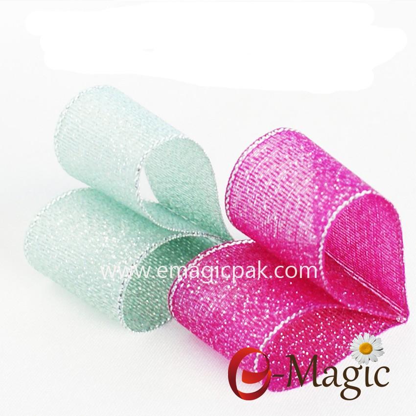 colorful Metallic Ribbon