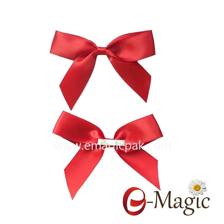 RB-031 Free-Samples-Custom-pre-tied-ribbon-bows