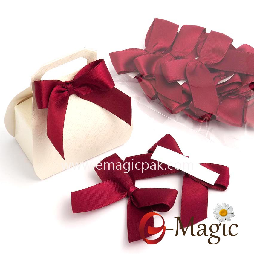 RB-032 Ribbon bow with selfadhesite for gift