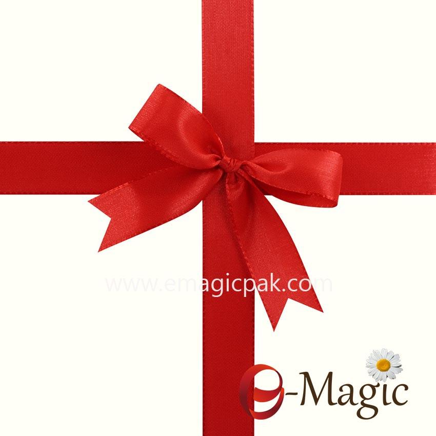 PB-006 Wholesale Polyester Satin Gift Box Packing Ribbon Bows