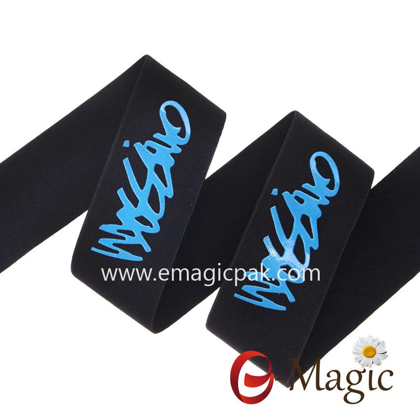 PR-032 Silicone printed elast ribbon