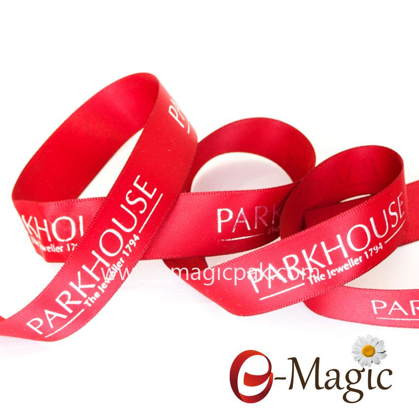 PR-016 China Factory Wholesale Polyester Custom Printed Satin Ribbon