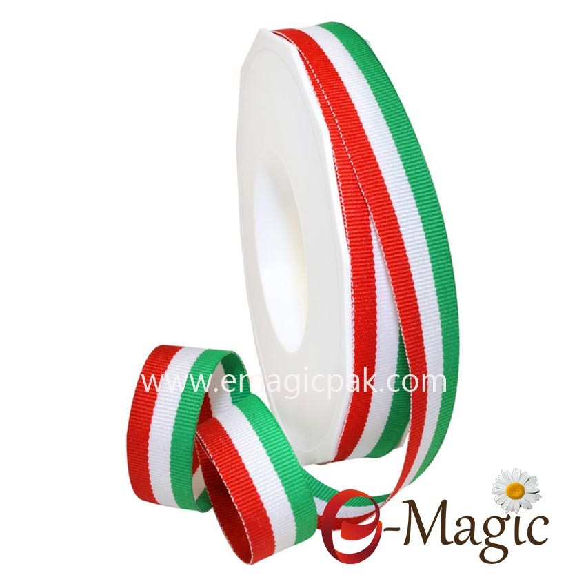 SPR-009 High-quality-polyester-red-white-green-italian