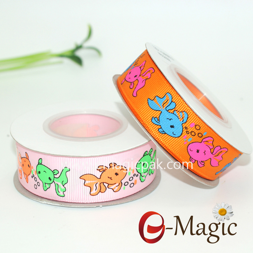 Animal-04  22mm Animal Printed Ribbon In Stock