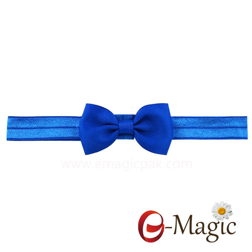 HB-020 ribbon cheer bows headbands for baby girls