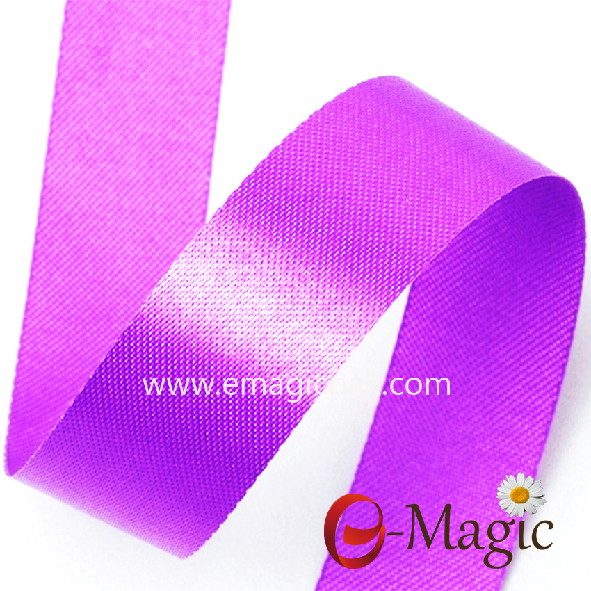 SSR1-016 polyester cutting edge satin ribbon for gift packaging