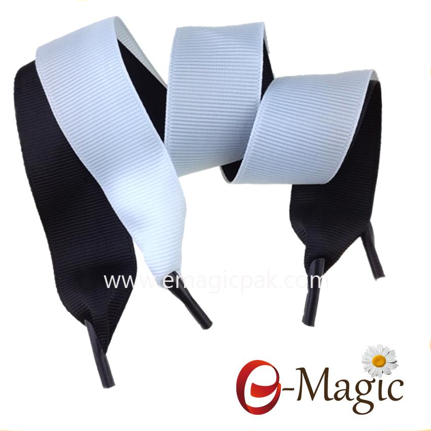 CT-02 Cheap grosgrain ribbon with clear plastic barbs,gift box shopping bag ribbon handle
