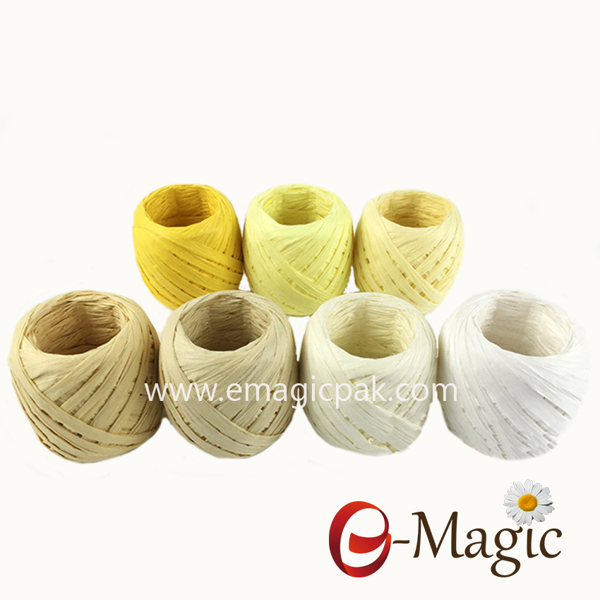Best Selling Christmas Decoration Paper Raffia Ribbon
