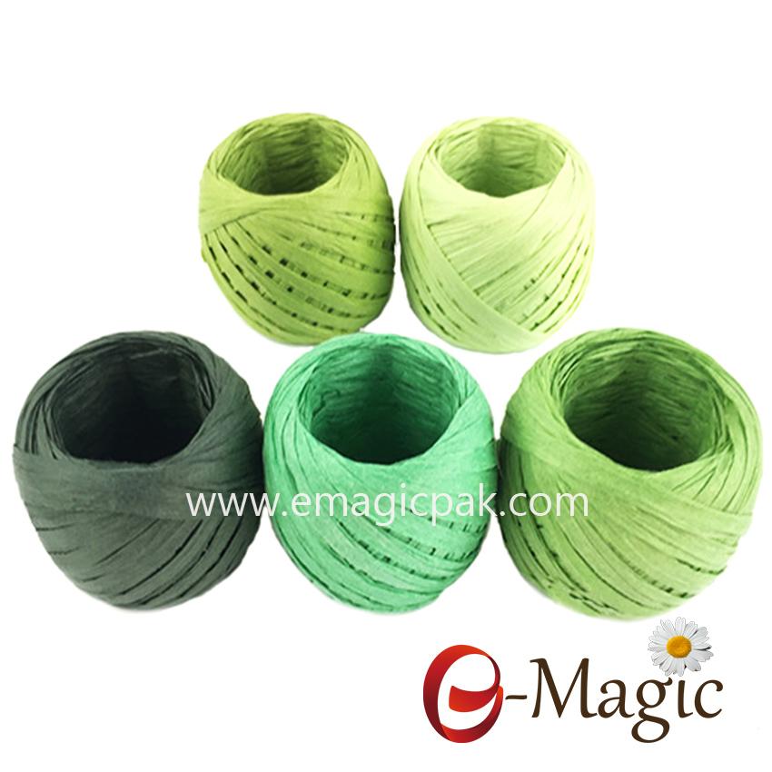 paper raffia band ribbon