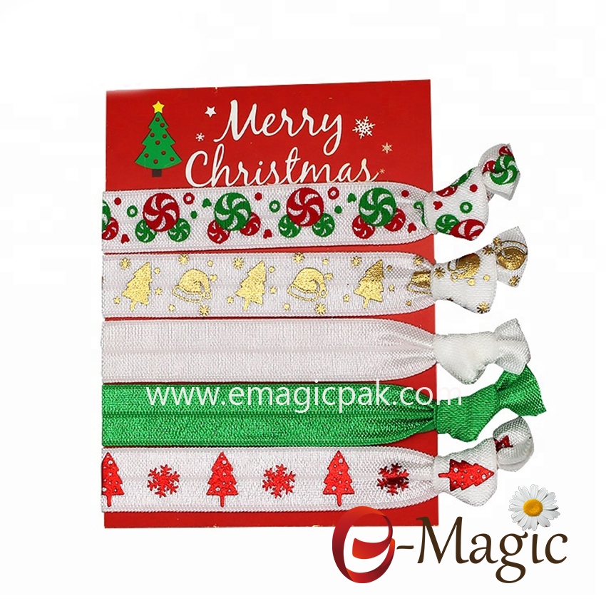 HBT-015 Good Quality Christmas Elastic Hair Band