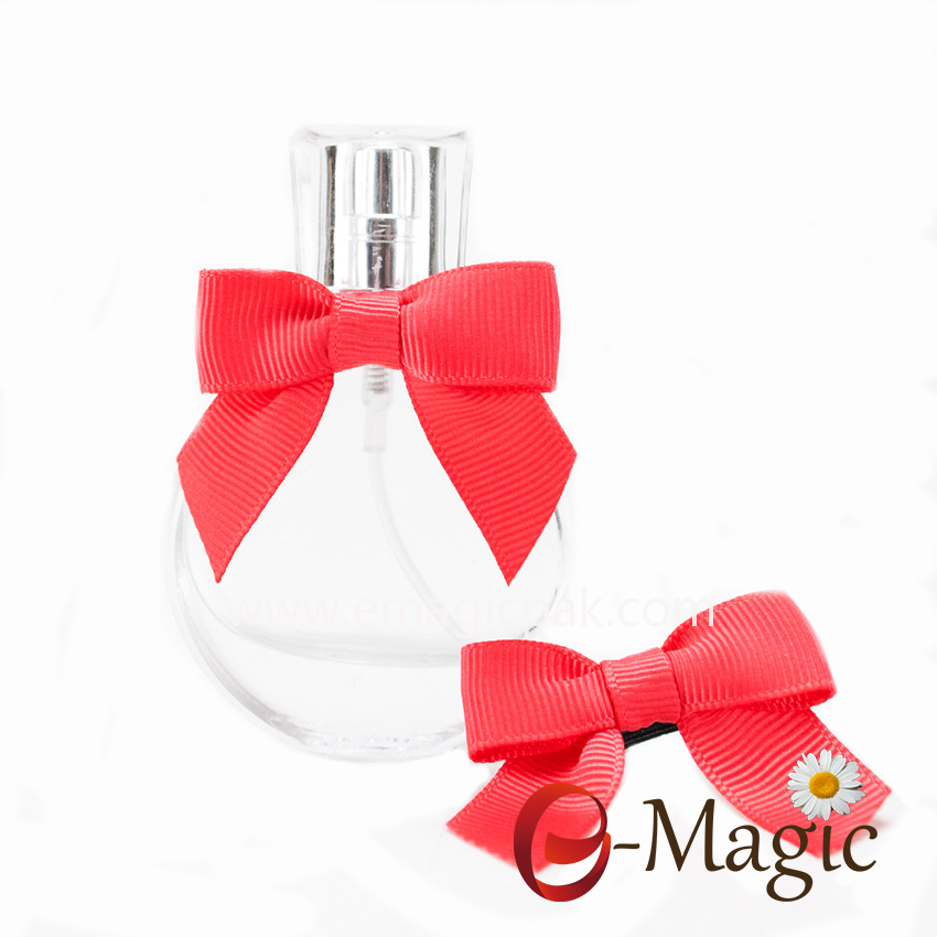 RB-048 Grosgrain Ribbon Bow For perfume bottle decoration