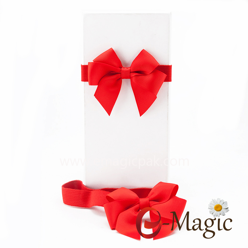 PB-063 Custom Gift Box Ribbon Bow For Gift Pack