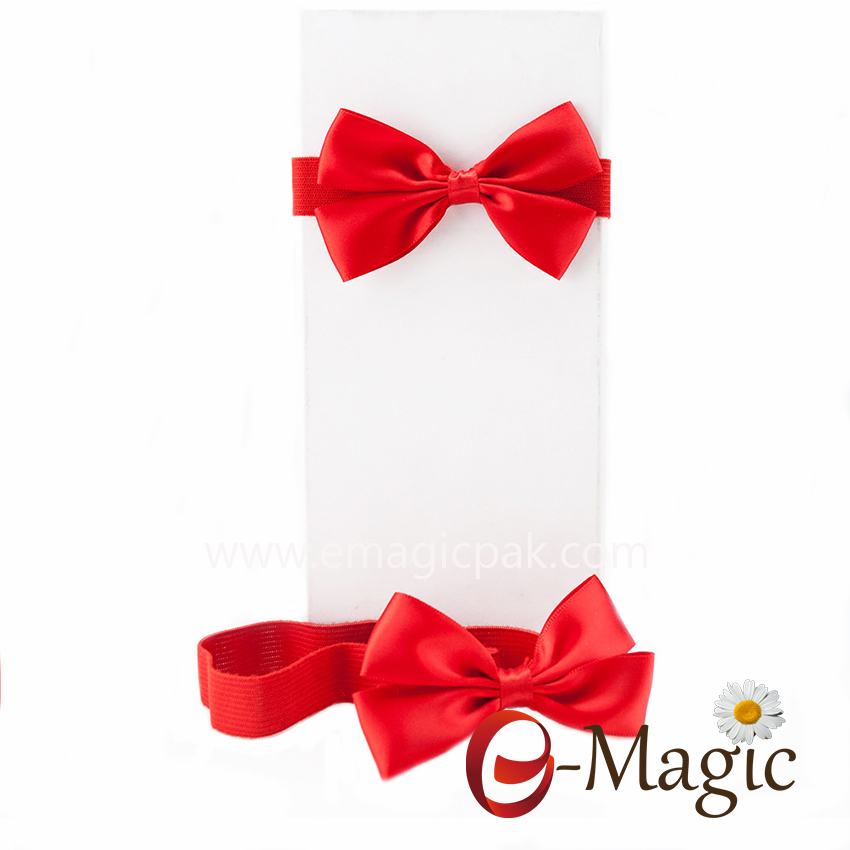 PB-065  Wholesale Cheap Gift Packaging Pre-Tied Ribbon Bows