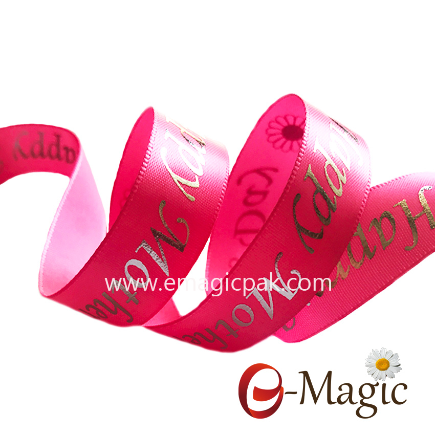 Mothers-05  High Quality Custom Personalized Mothers Day Printed Ribbons