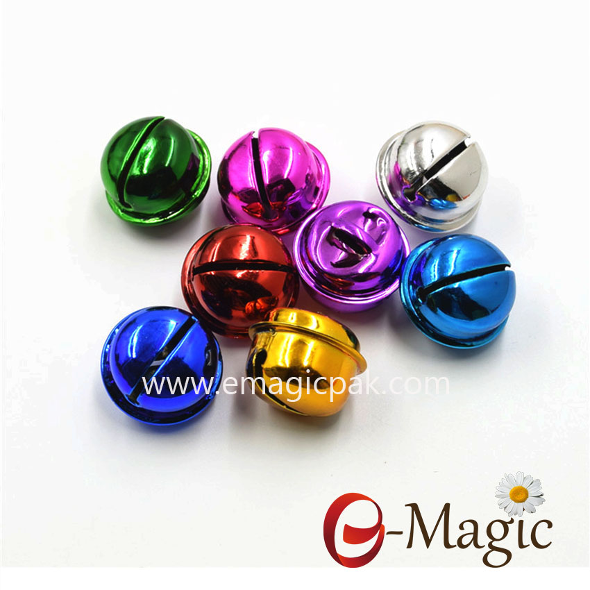 Accessory-02 Wholesale colorful  Bells for christmas decoration
