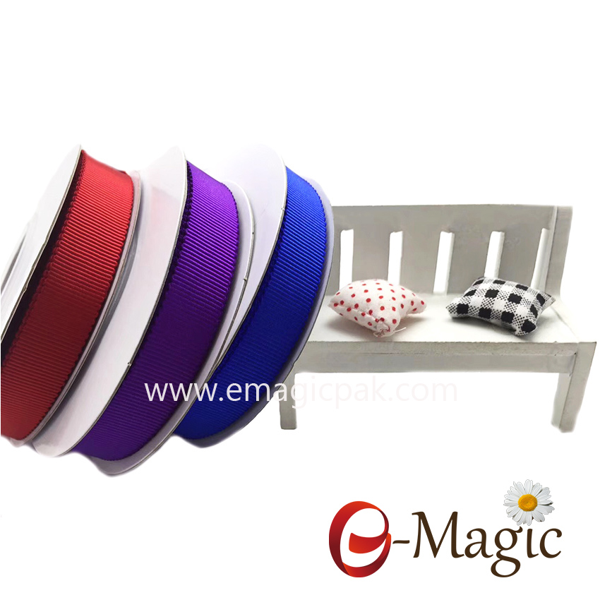 PSR-016 Colorful Petersham Polyester Grosgrain Ribbon For Hats Decoration