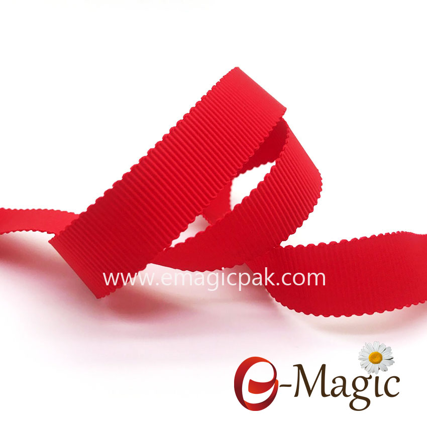 PSR-016 Best quality custom woven petersham ribbon
