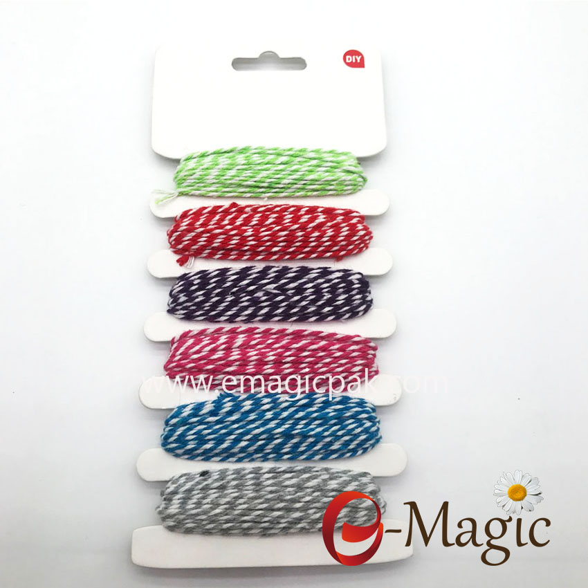 Retail Package-022 hot sales 2MM cotton cord