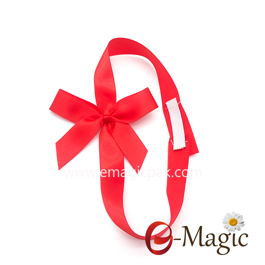 PB-067 Wholesale Classic Red  Ribbon Bow For Gift Decoration Packing