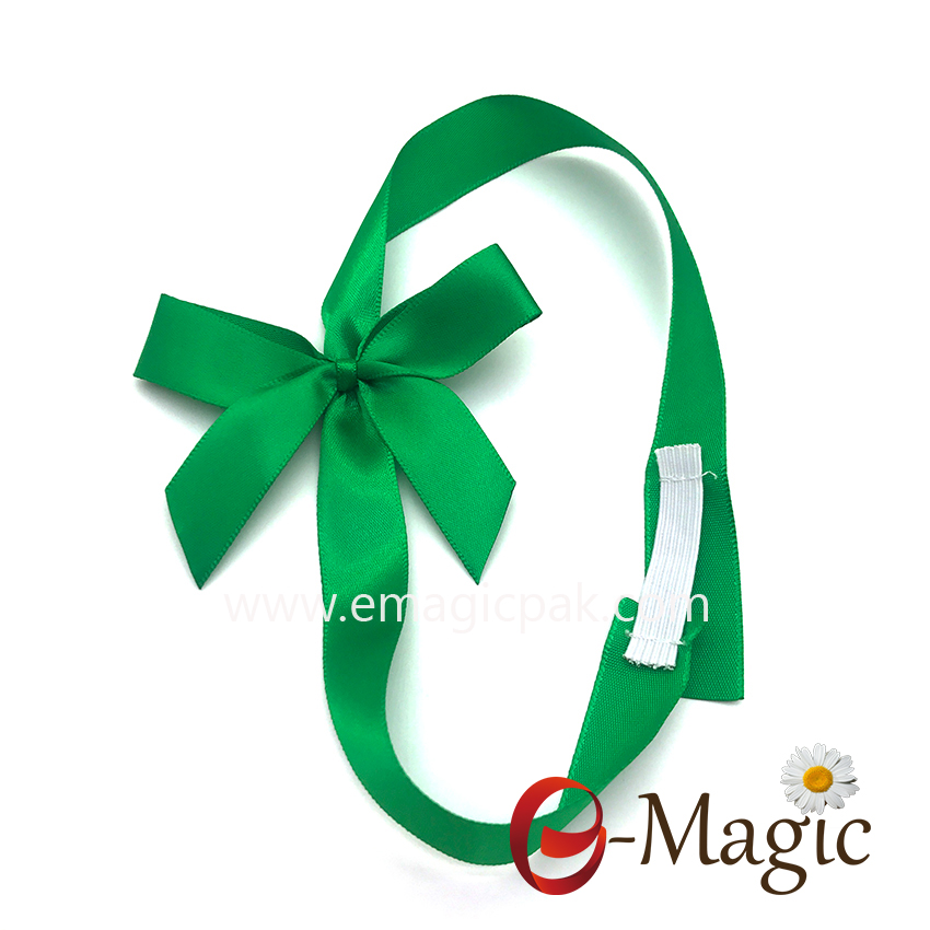 PB-068 Wholesale Polyester packing bow , Packing Ribbon gift bow