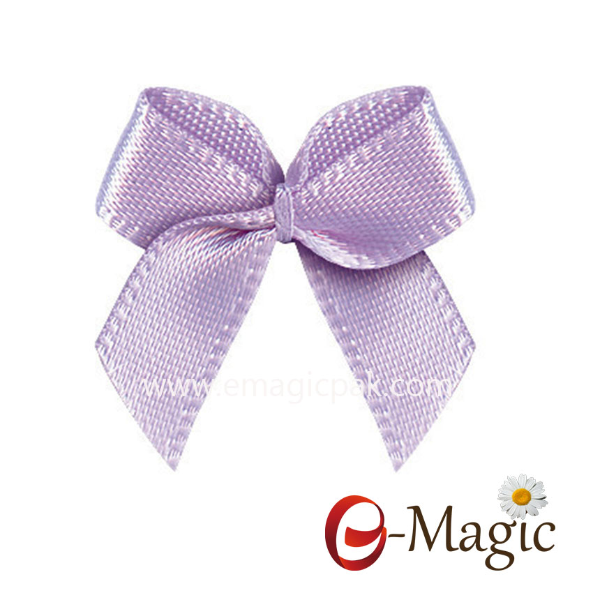 MRB-031  ribbon bow/handmade bows in invitations cards