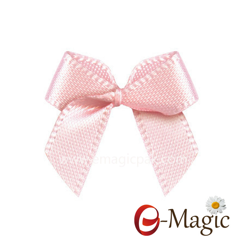MRB-027   satin ribbon bow for chocolate decoration