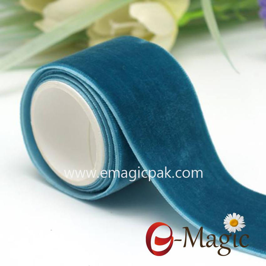 VR10000-038  factory wholesale colorful velvet ribbon