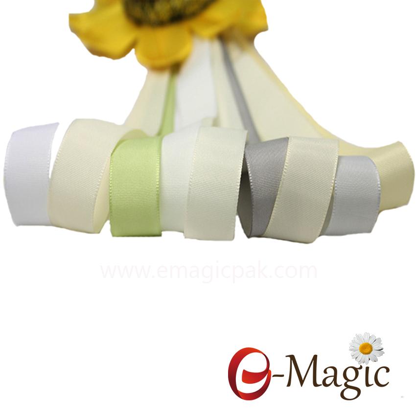 Wholesale good quality solid taffeta ribbon