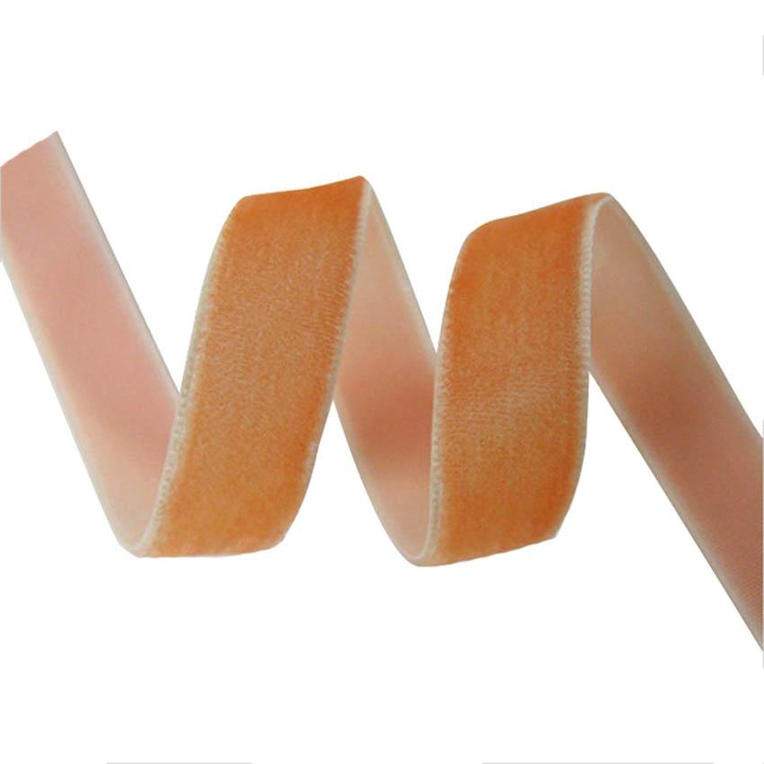 VR10000-016  100%nylon single face velvet ribbon