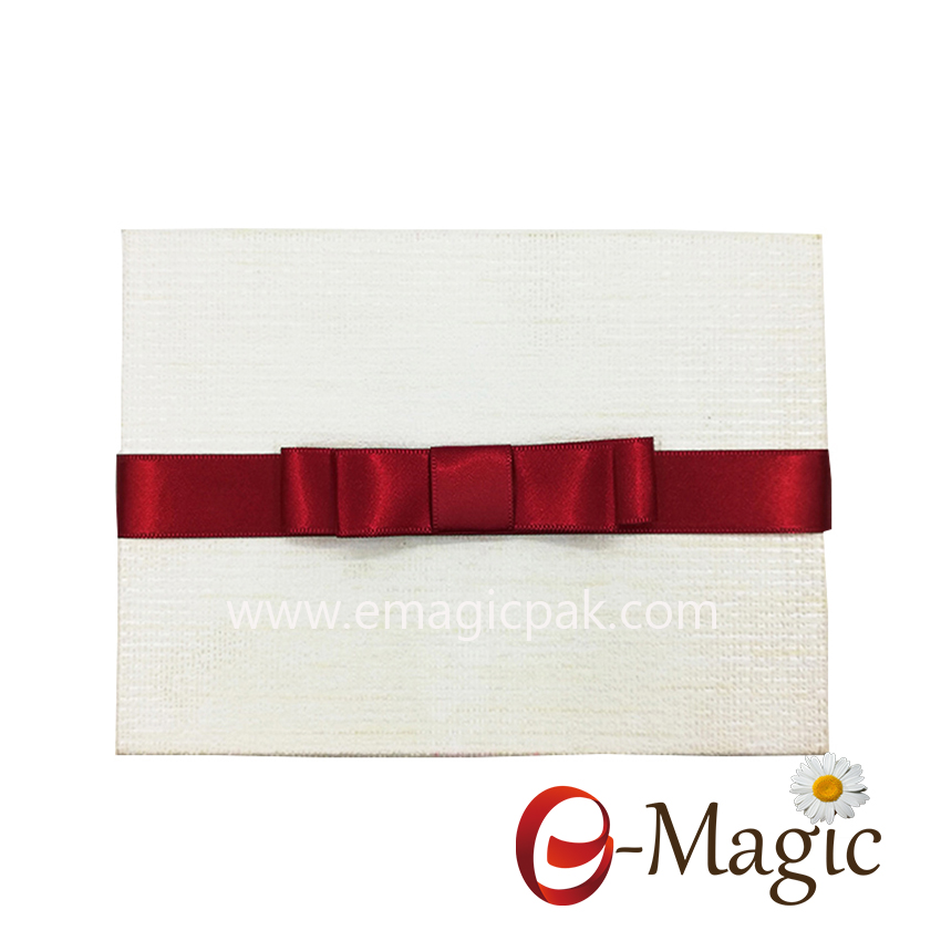Packing Design-08  25MM wholesale satin ribbon bow packing bow folding gift box with ribbon