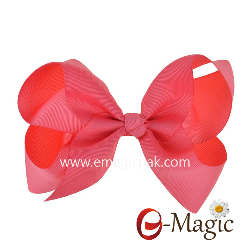 HB-037 Factory High Quality Beautiful Fashion Ribbon Bows for hair decoration