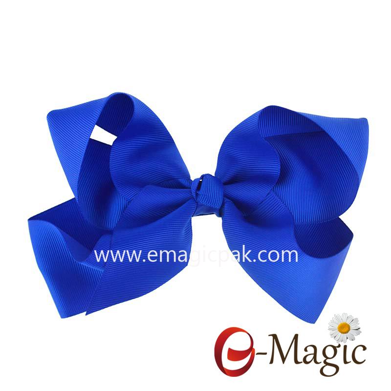 HB-036 handcraft grosgrain ribbon bow for children hair headwear flower