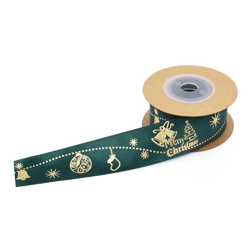 PR-032 Custom christmas satin ribbon