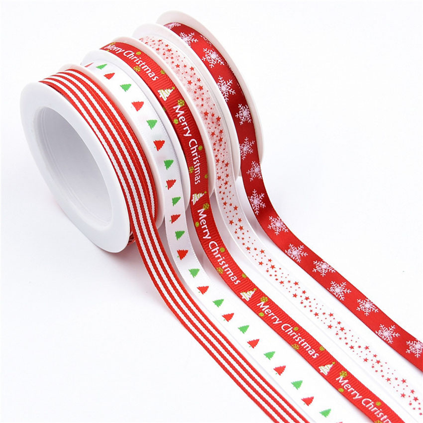 PR-009 Hot Sale Custom High Quality Christmas Ribbons from China