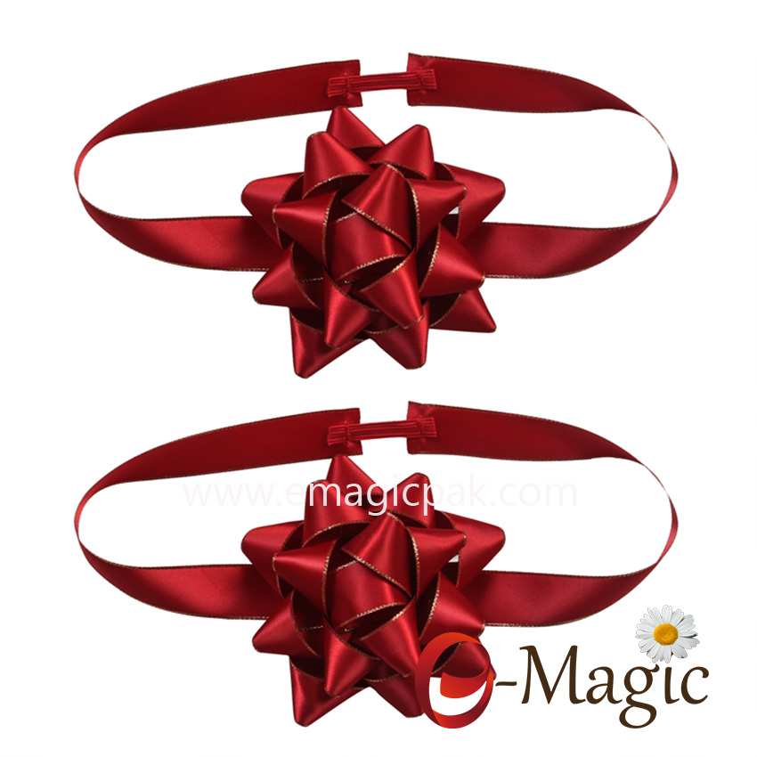 PB-094  Star packing bow for gift packaging