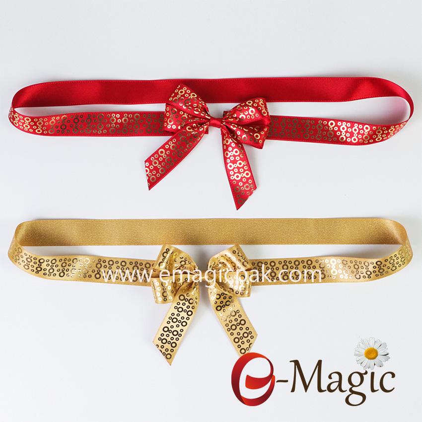 PB-096   Popular printing design packing bow