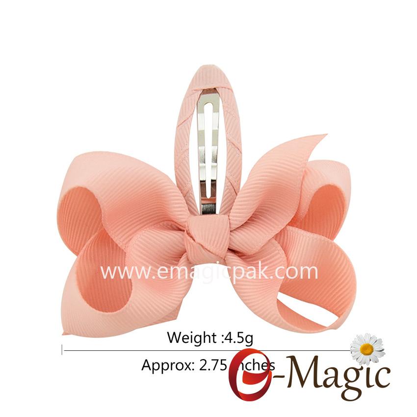 HB-040  hair clip bow clip