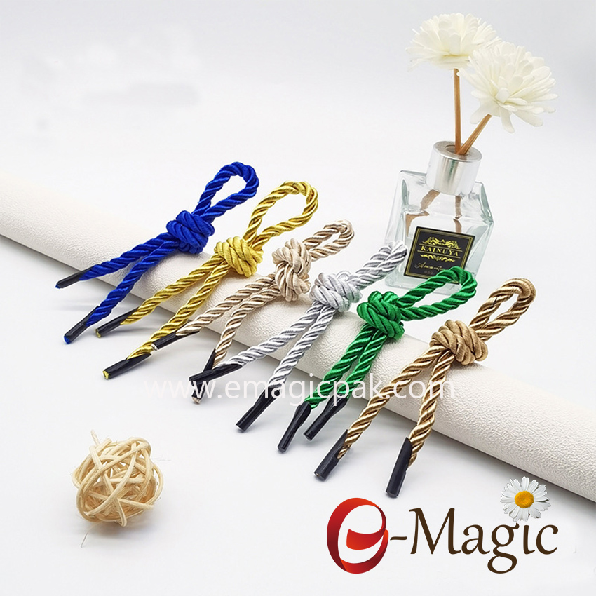 HR-002 Wholesale High Quality Colorful Hand Rope For Paper Shopping Bag